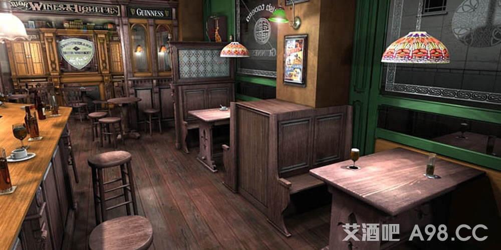 - Decoracion pub irlandes ...
