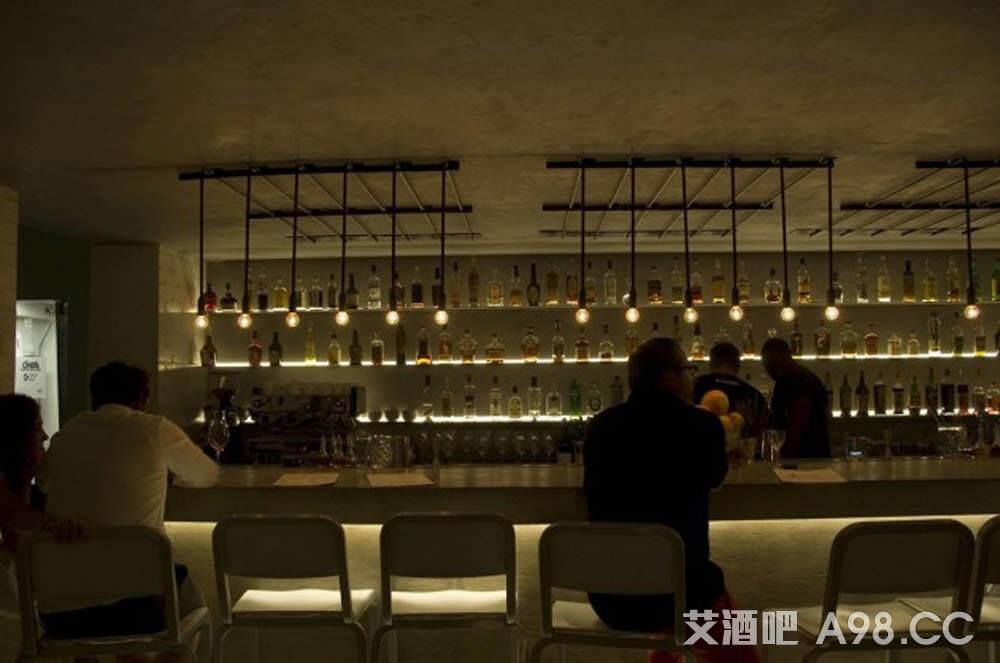 独特工业餐吧设计 - 乌托风酒吧KTV娱乐夜场设计装潢公司
