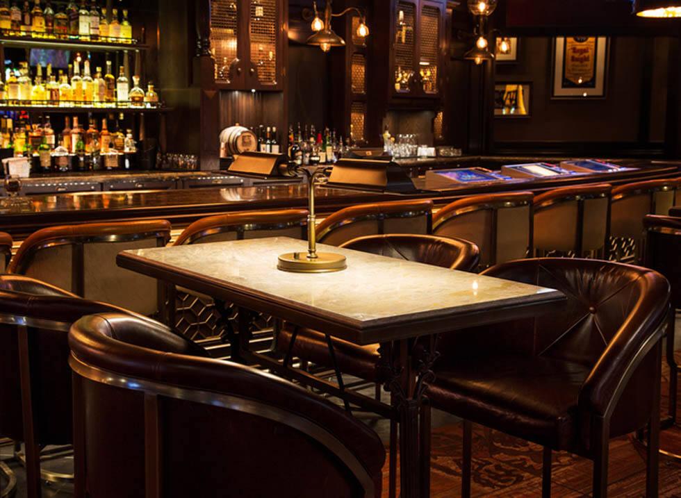 高档大气的威士忌酒吧设计 - 乌托风酒吧ktv娱乐夜场