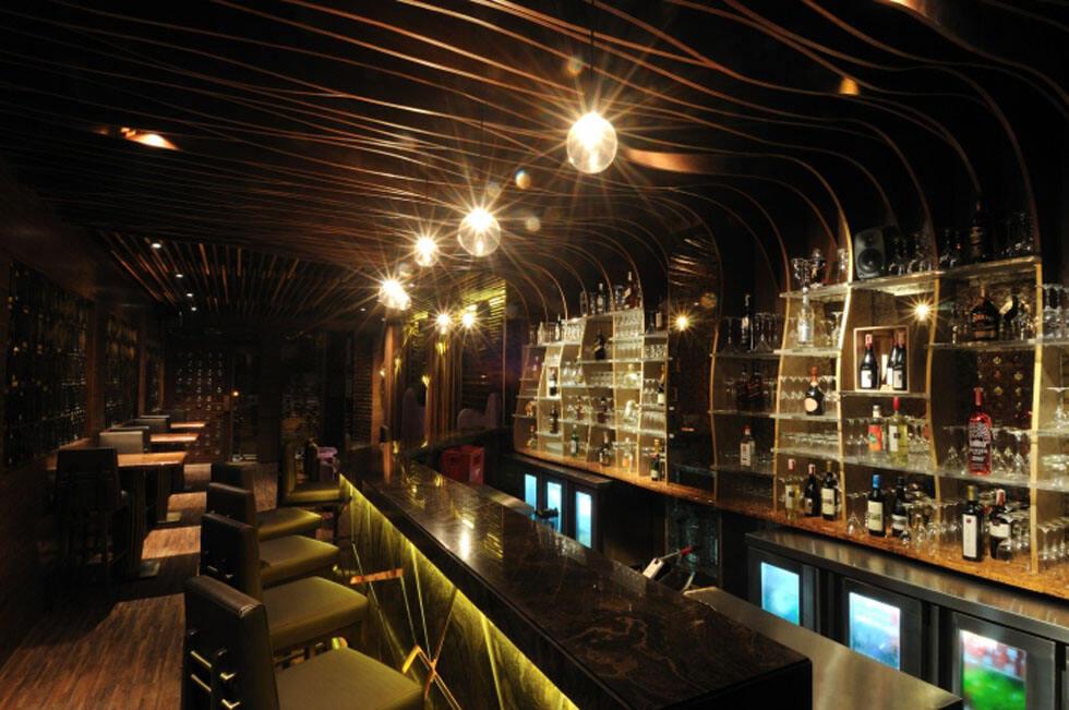印度艺术表现手法的餐厅烧烤酒吧设计 - 乌托风酒吧