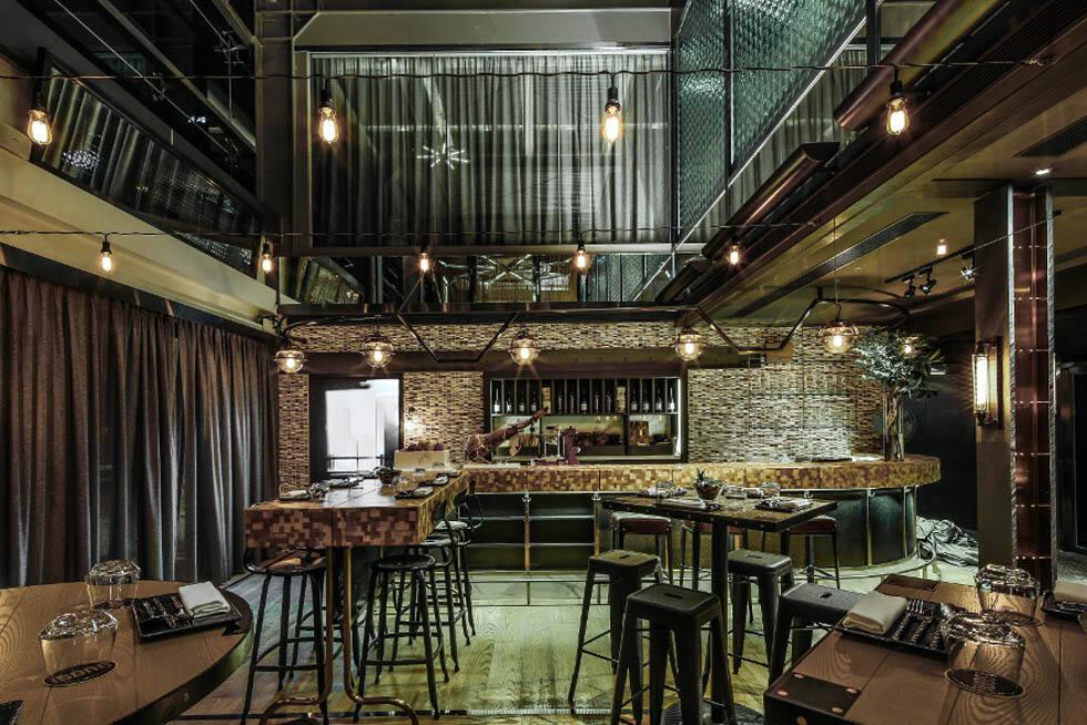 乔伊斯餐厅酒吧设计 特色休闲清吧空间