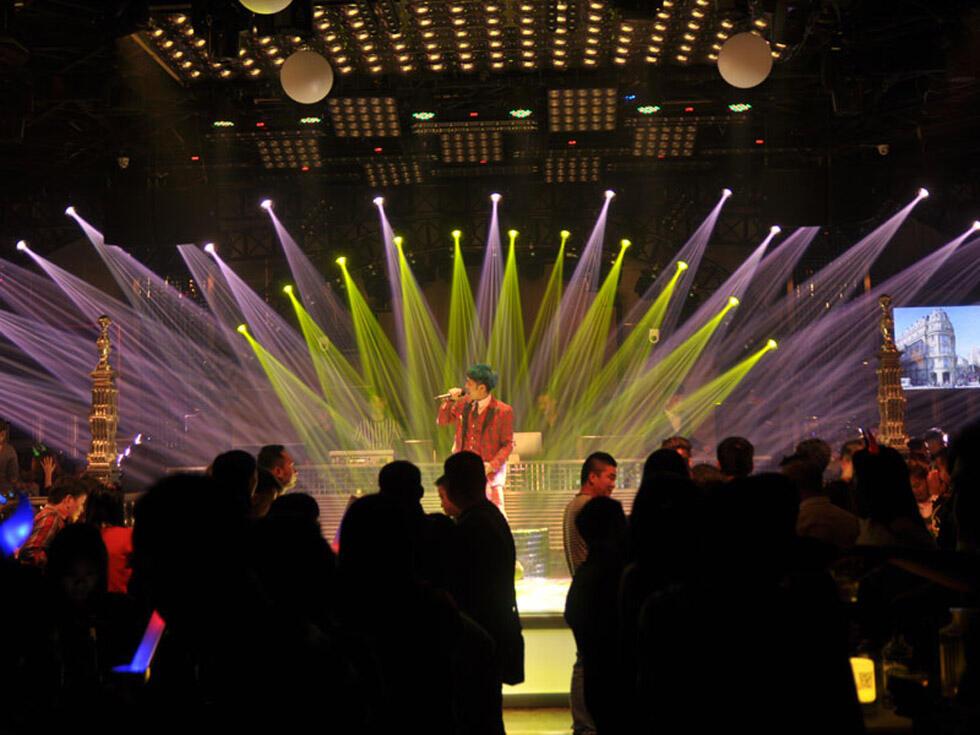 上上酒吧灯光设计 创意与创新的夜场代表