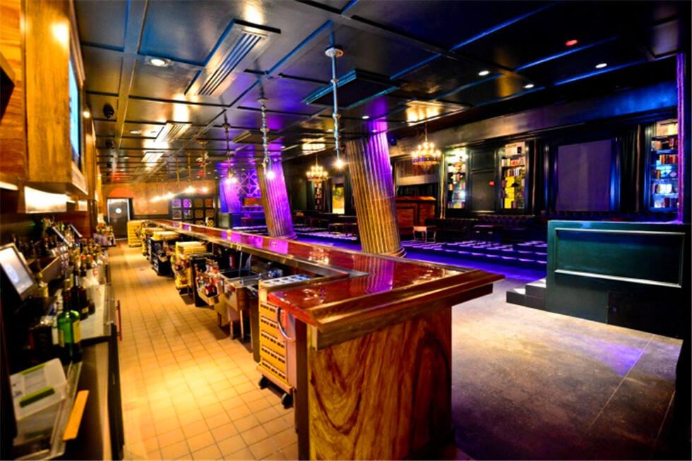 混合型休闲酒吧设计