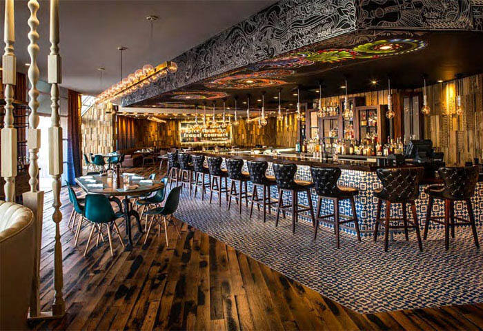 富丽堂皇的酒吧装修图片