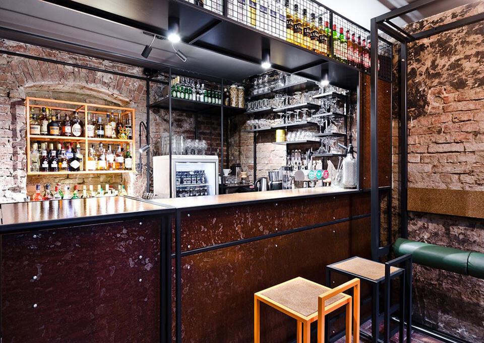 独特工业风格的地下室酒吧 - 乌托风酒吧ktv娱乐夜场