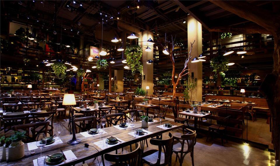 连锁品牌胡桃里音乐餐厅设计装修方案