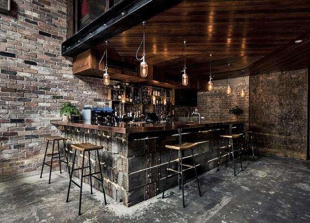 澳洲黯黑崩坏感酒吧设计 Donny's Bar,酒吧设计,酒吧设计风格,酒吧设计公司