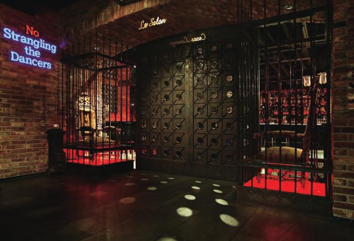 象征自由与青春的B-ONE复古酒吧设计,酒吧设计,音乐吧设计,音乐餐吧设计