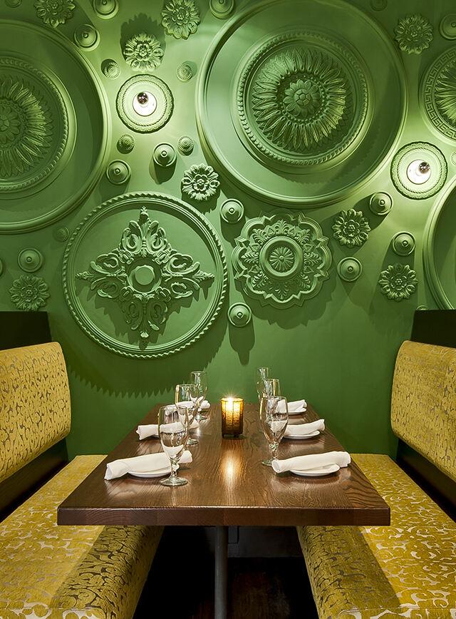 那不勒斯Barbatella音乐餐厅设计,音乐吧设计,音乐餐厅设计,餐厅设计