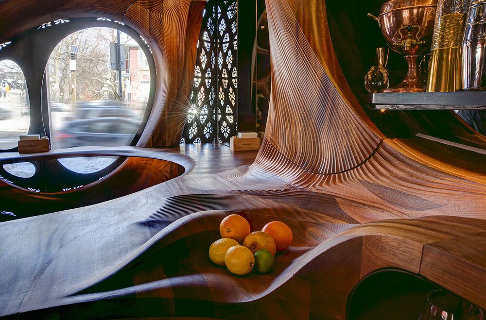 多伦多充斥新艺术的 BAR RAVAL 酒吧设计,主题酒吧设计,艺术酒吧设计