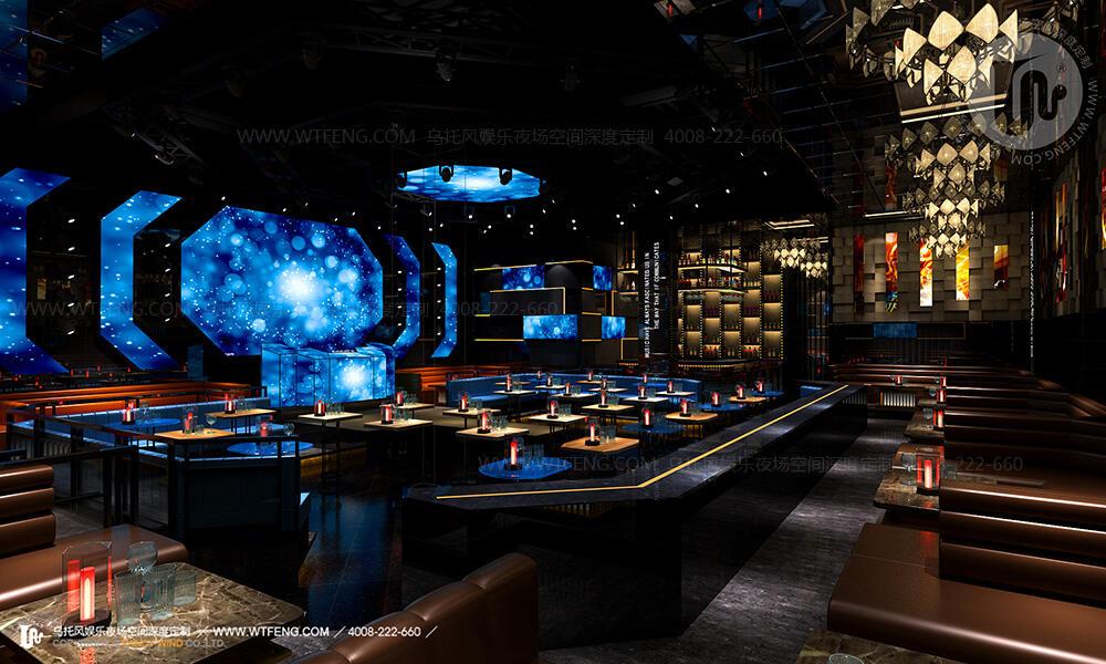 广州酒吧设计模拟效果图