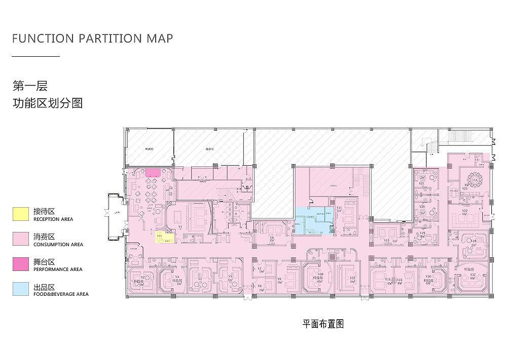 大型酒吧设计平面布置图