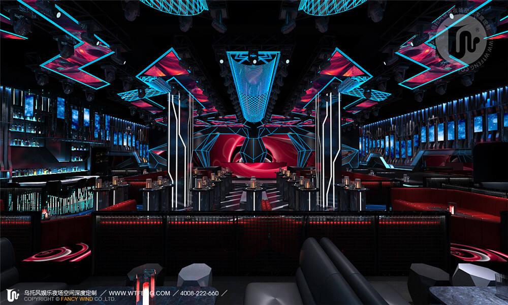 燕郊酒吧设计