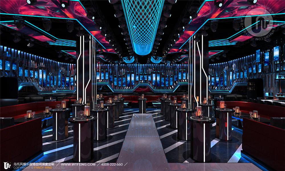 燕郊酒吧大厅设计