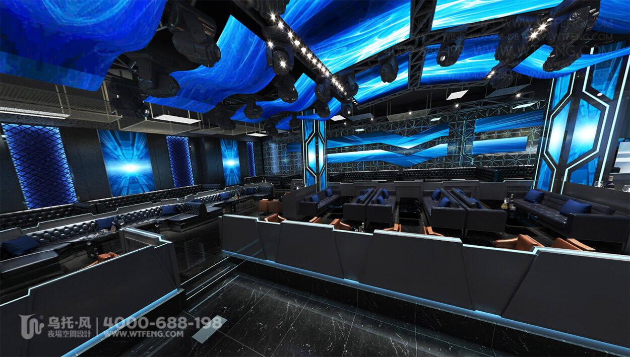 新疆WIOS CLUB酒吧设计效果图-大厅