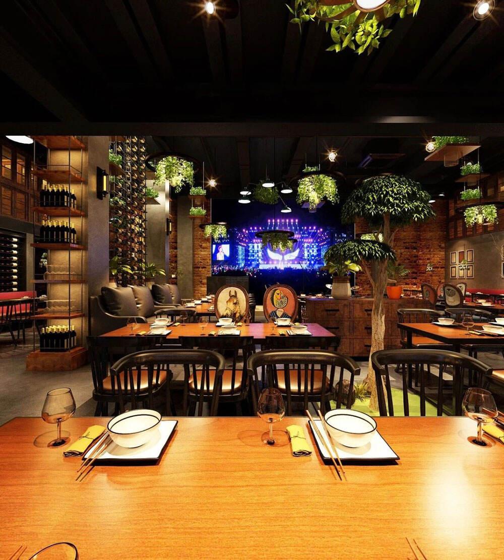 餐厅酒吧设计效果图
