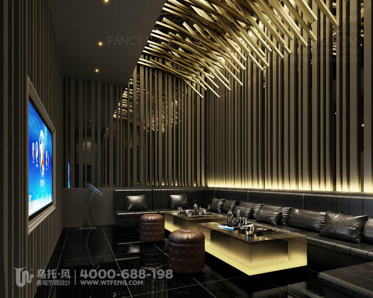 RANDA酒吧设计效果图-包房