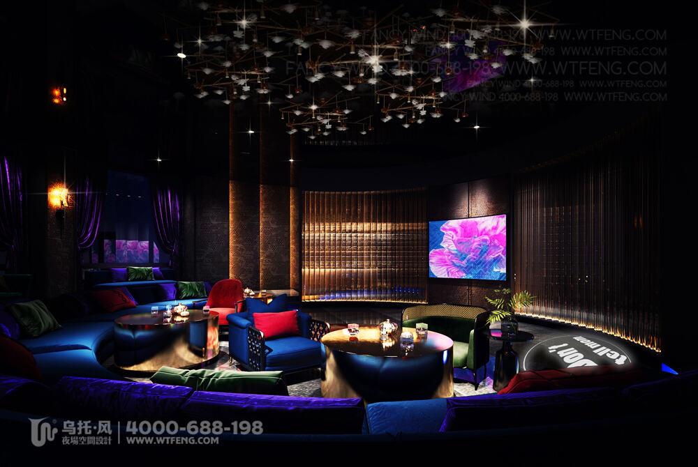 南宁 震CLUB酒吧设计效果图-包房6