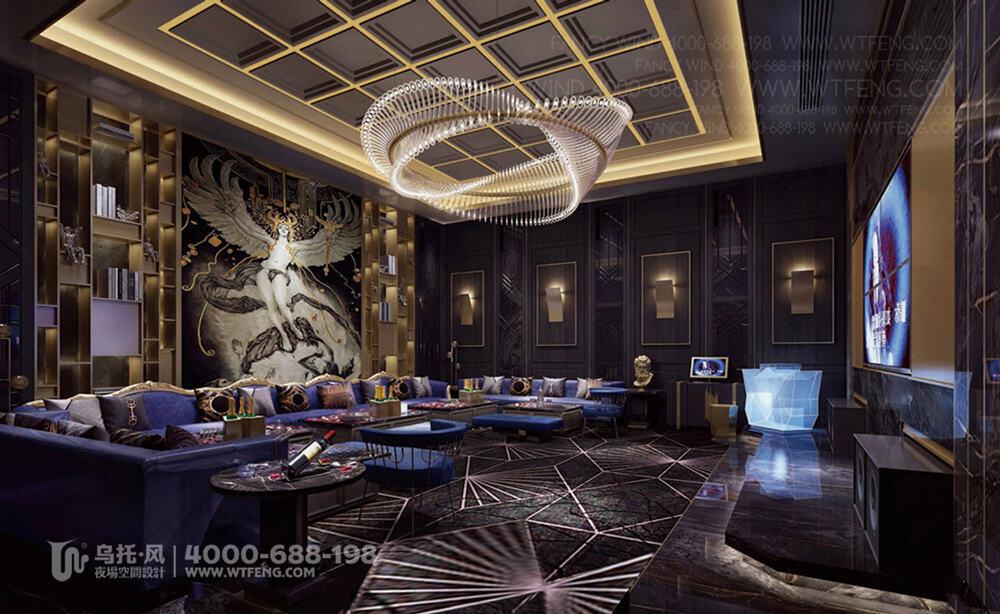 广西柳州迈阿密酒吧设计效果图-包房4