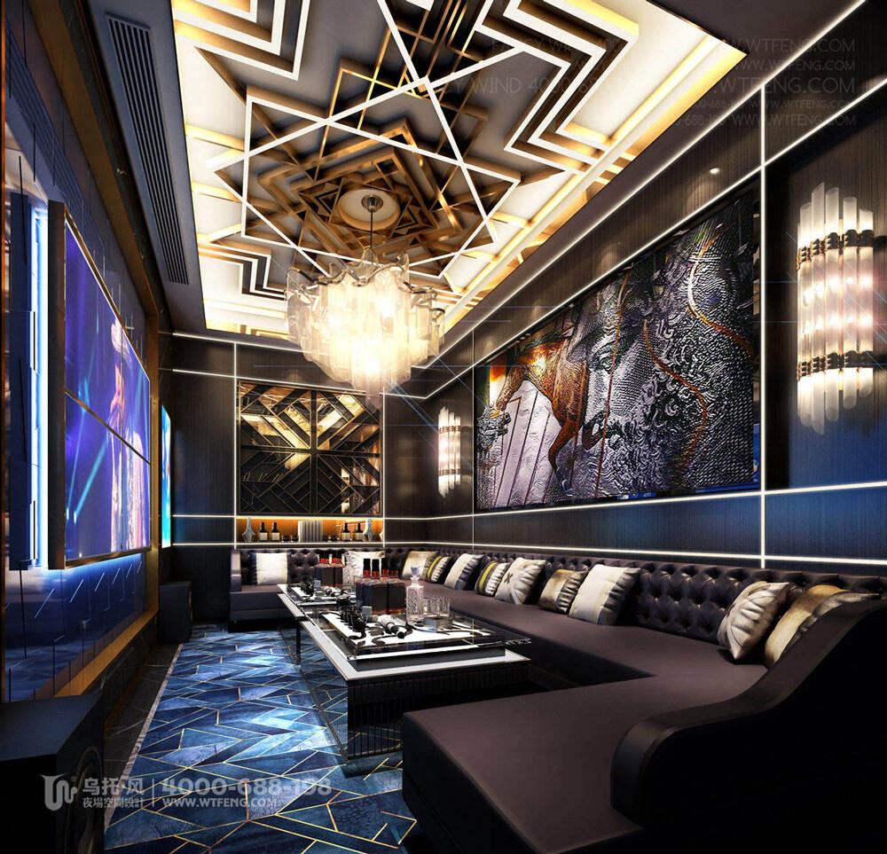 广西柳州迈阿密酒吧设计效果图-包房2