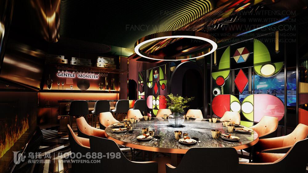 南宁 震CLUB酒吧设计效果图-包房7