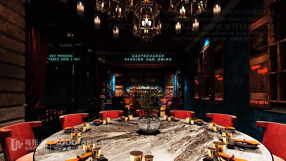 南宁 震CLUB酒吧设计效果图-包房5