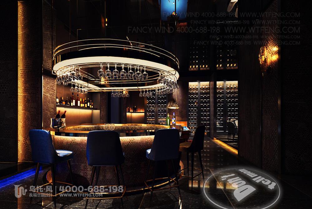 南宁 震CLUB酒吧设计效果图-包房11