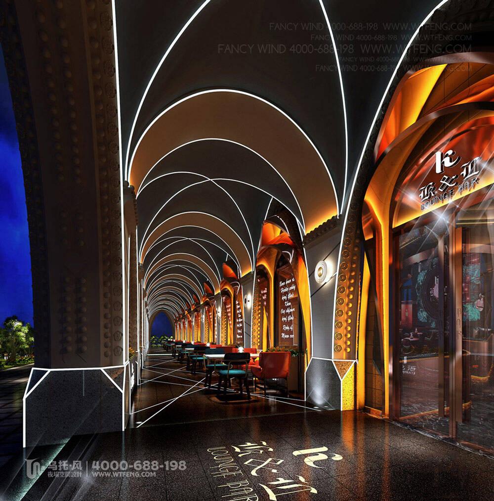 珠海K&L餐吧设计装修效果图-外摆区