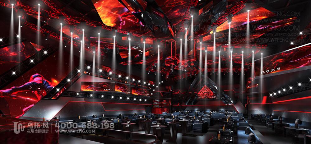 新疆阿克苏VISTE酒吧设计效果图-大厅