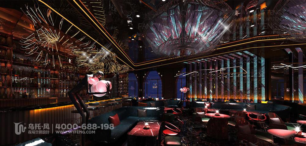 珠海K&L餐吧设计装修效果图-大厅