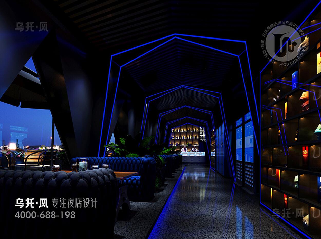 酒吧设计效果图-餐区