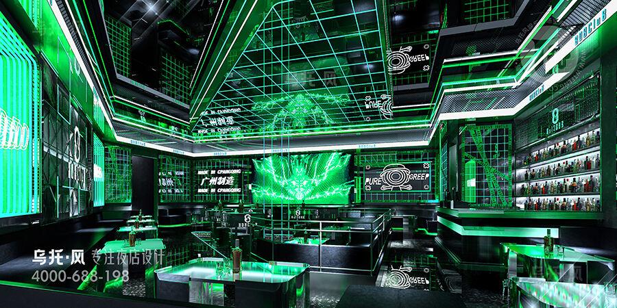酒吧设计效果图-大厅