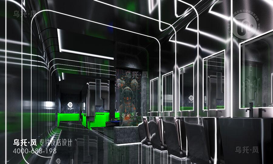 酒吧设计效果图-卫生间